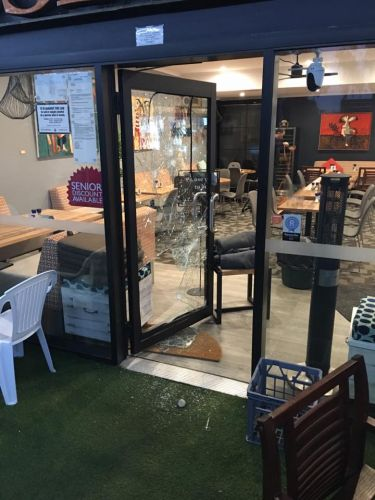 Thieves broke into Gooseberries Cafe again overnight. Picture: Gooseberries Cafe/Facebook