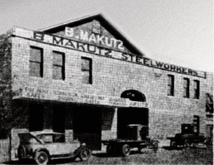 B. Makutz Steelworkers HQ when it opened in 1931.