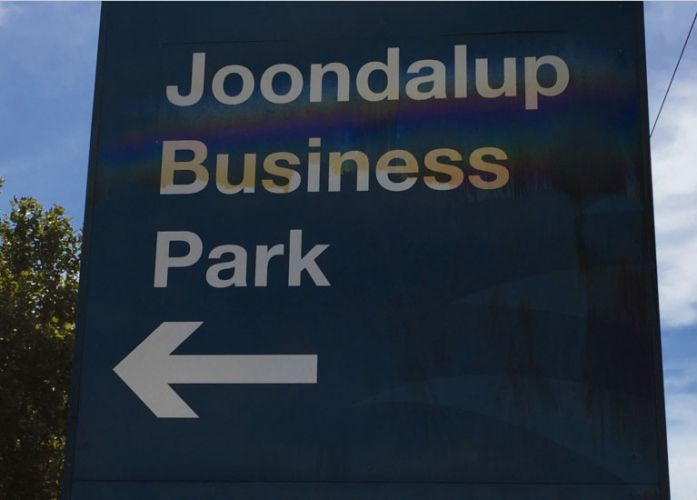 City of Joondalup is educating businesses about sign placement in the Winton Road area.