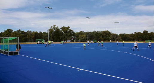The new Warwick Hockey Centre.