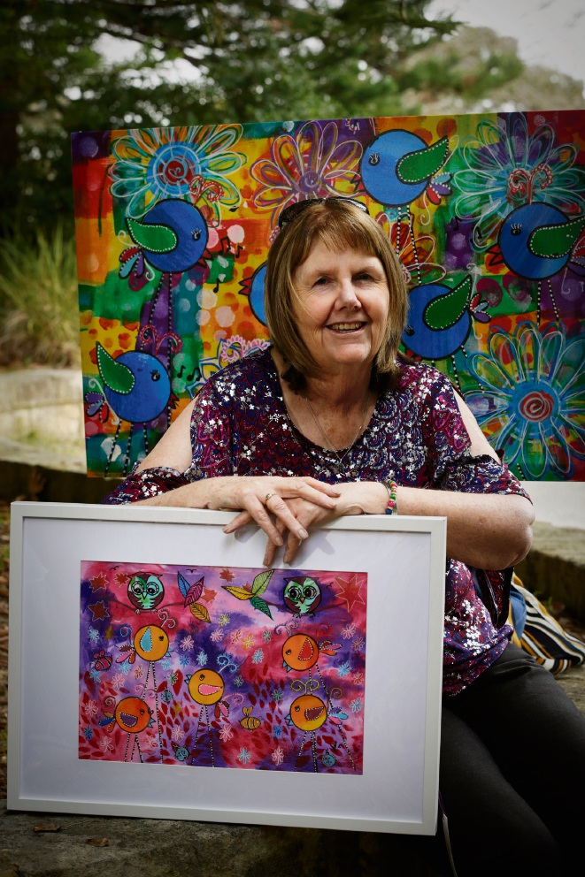 Parkinson's diagnosis leads Nedlands woman to uncover her creative side