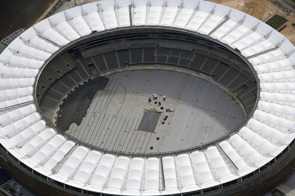 Perth Stadium on track to be finished and ready for 2018 AFL season