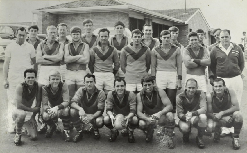 Palmyra's premiership B-grade side from 1967.