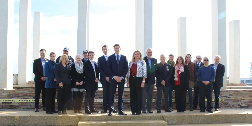 Safer Street-Family Friendly Foreshore project sees war memorial protected