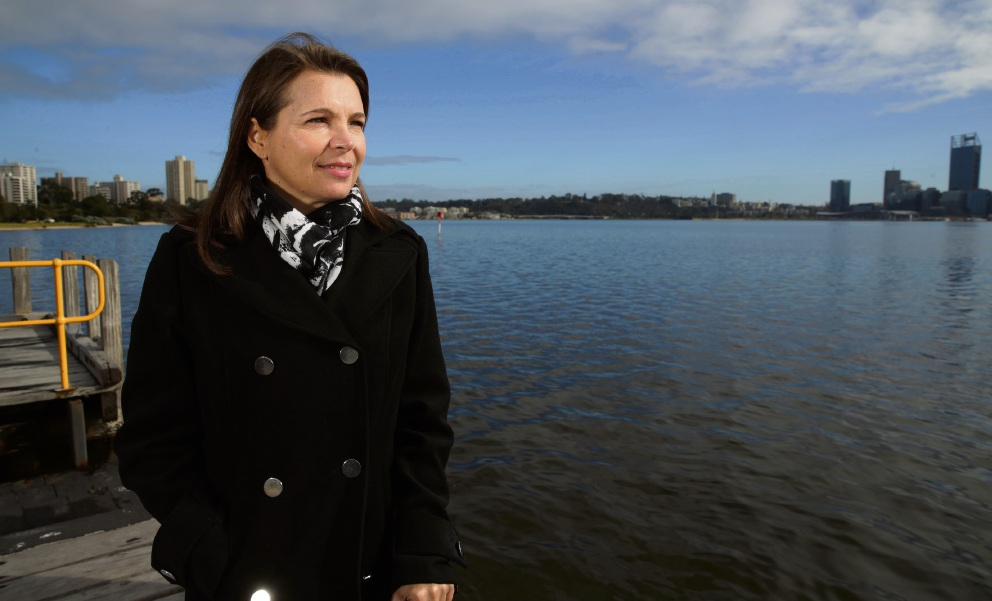 Trudy Klessons wants to help make Perth's waterways clean.