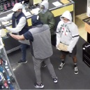 The men wanted for questioning.