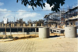 Joondalup Library under construction in 1996.