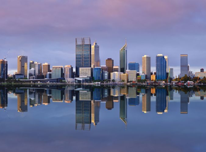 Perth's skyline. Picture: iStock