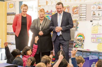 Dianella Primary College among  first schools to benefit from roll-out of education assistants in 2018