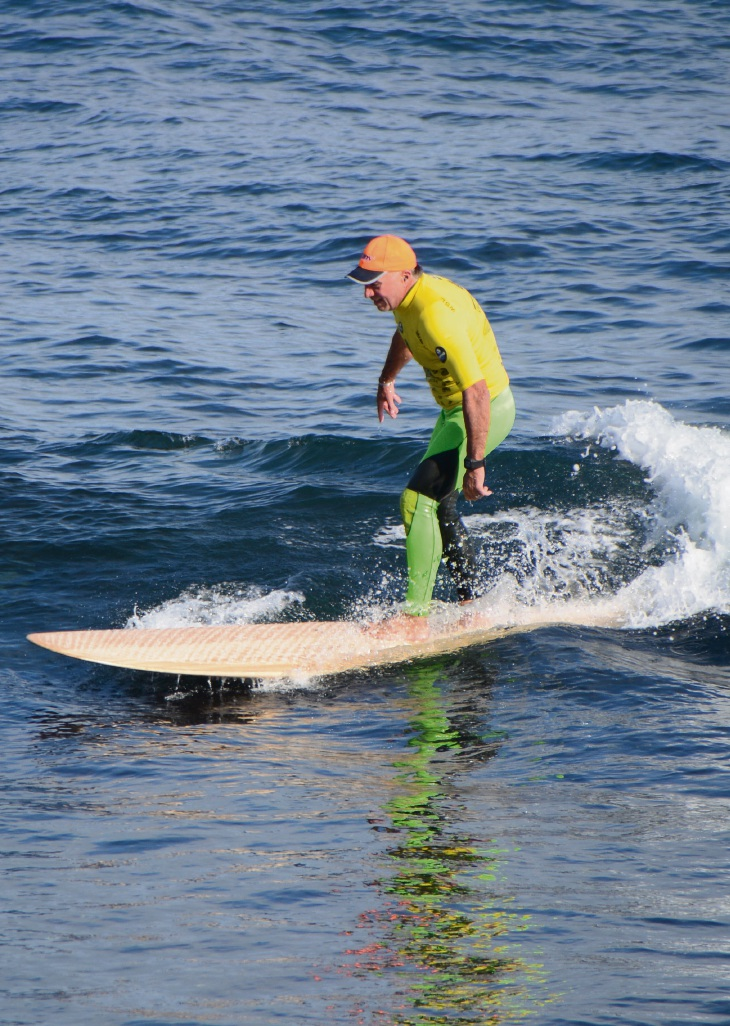 Whalebone Classic over-55s competitor Rod Lyons.