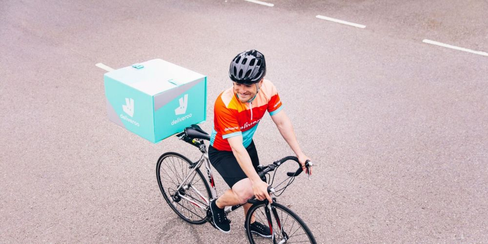 Deliveroo riders will be feeling the burn on Monday. Photo: supplied