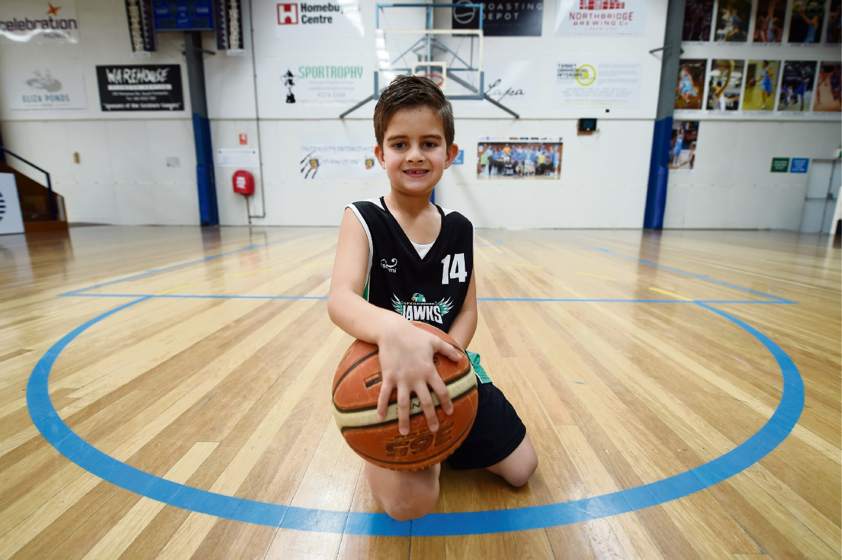 Chayse Stoddart is already outperforming kids much older than him. Picture: Jon Hewson d471432