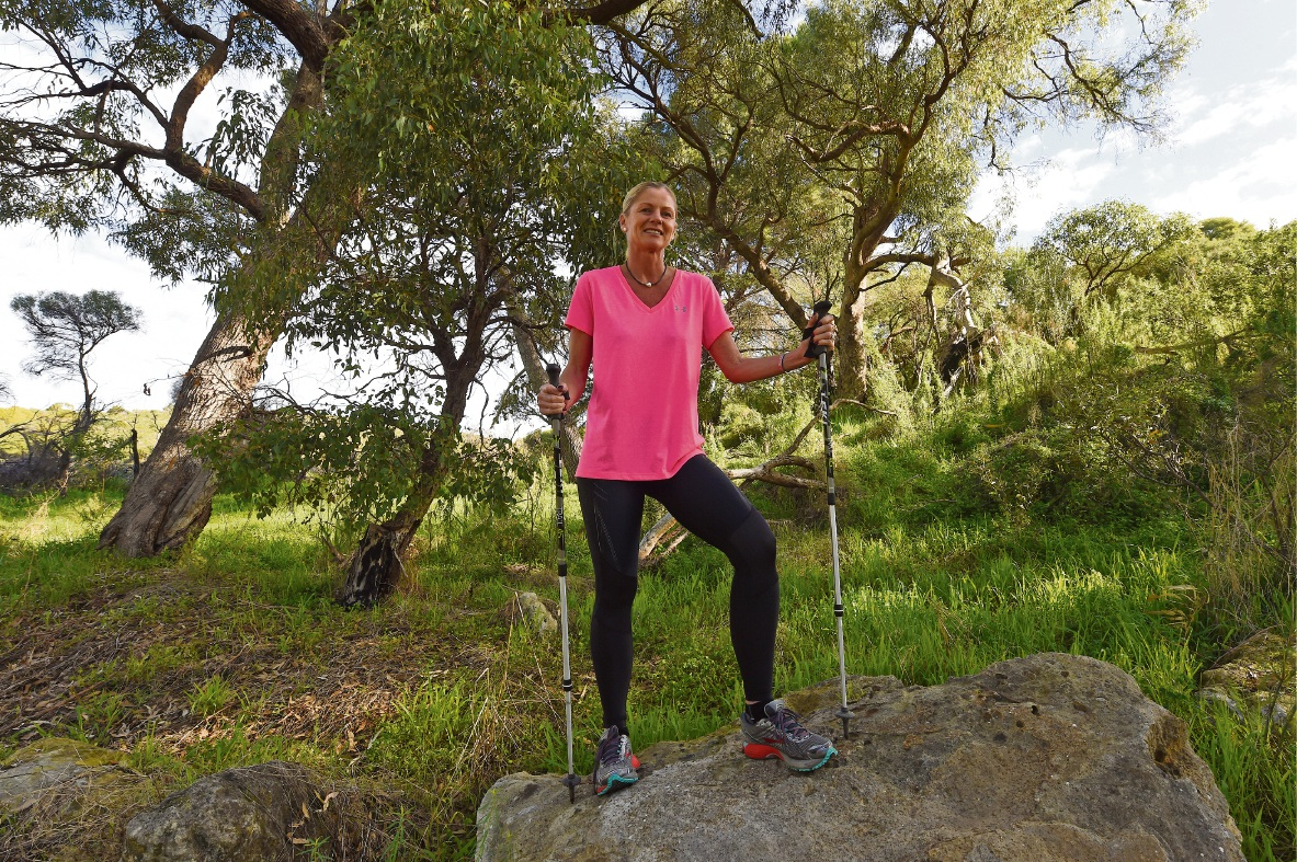 North Coogee Walker Goes The Distance For Oxfam Trailwalk
