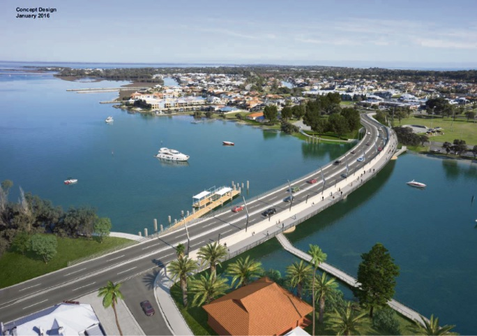 Family picnic to mark official opening of new Mandurah Bridge