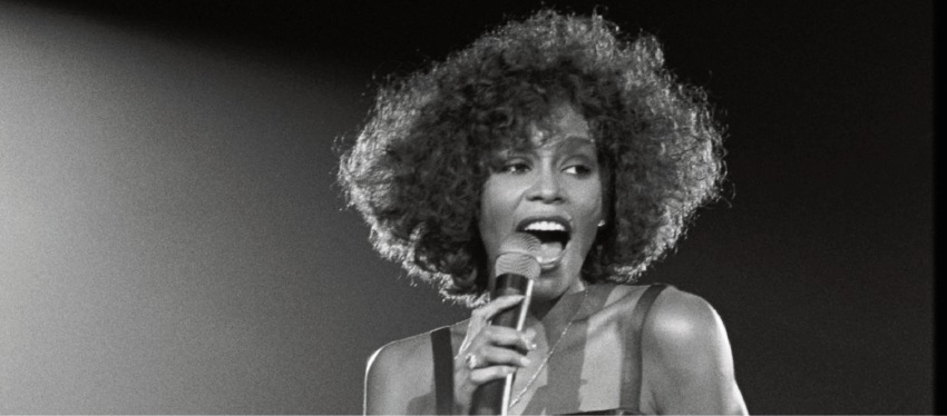 Whitney Houston in Whitney: Can I Be Me.