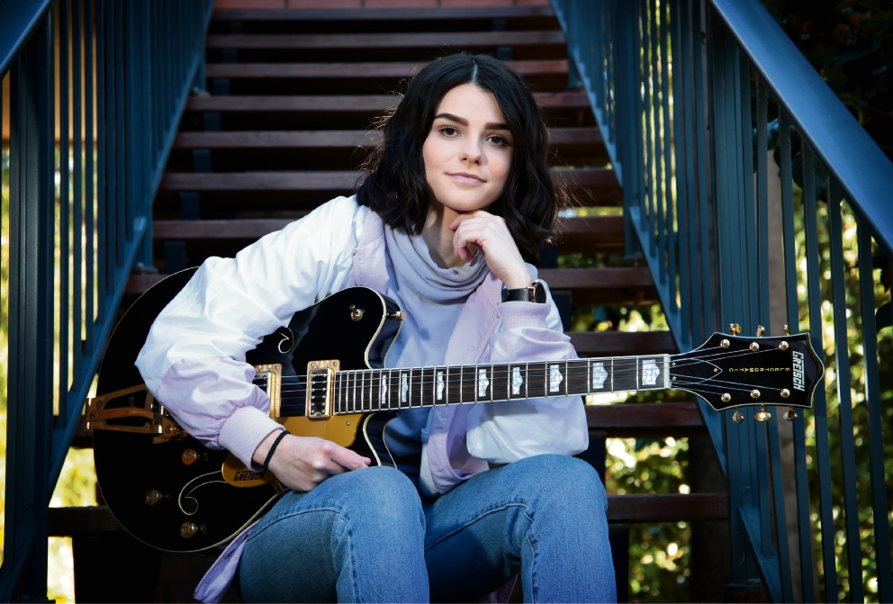 Singer-songwriter Chloe Buchanan will write a song to call your own