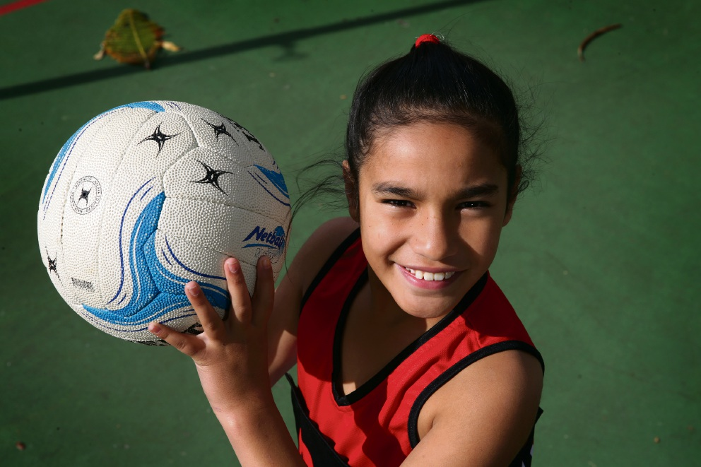 Taylah Tuteao has taken to the sport very quickly. Picture: Martin Kennealey www.communitypix.com.au   d471398