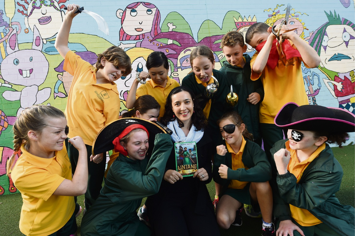 Ardross Primary School teacher Tamara Moss is preparing to launch her debut pirate-themed kids book Lintang and the Pirate Queen.