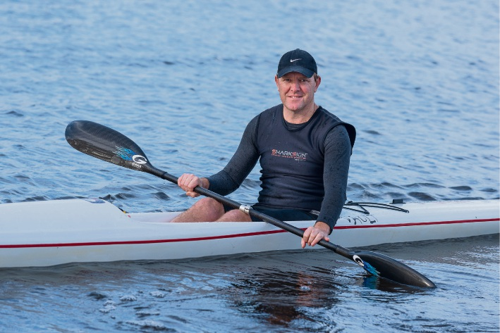 Wilson resident Simon O'Sullivan is gearing up for this year's Avon Descent.  Pictures: Emma Geary
