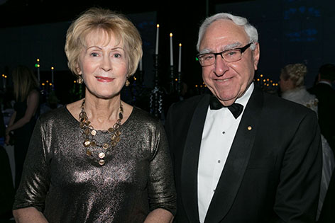 Governor Kerry Sanderson and Former Governor Dr Ken Michael. Picture: Kelly Pilgrim-Byrne.