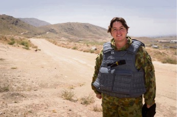 Brand MHR Madeline King has a deeper understanding of what ADF personnel endure after spending two weeks with them in the Middle East