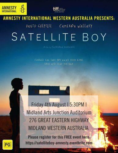 Special screening of Satellite Boy