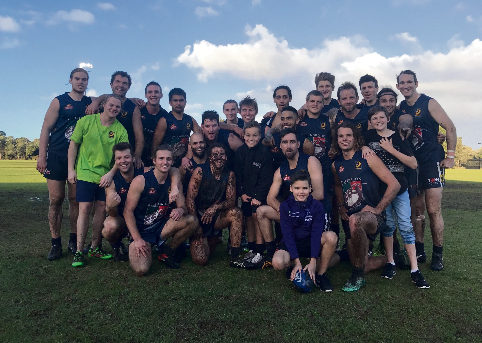 Ellenbrook Eels league win despite muddy conditions on the weekend.