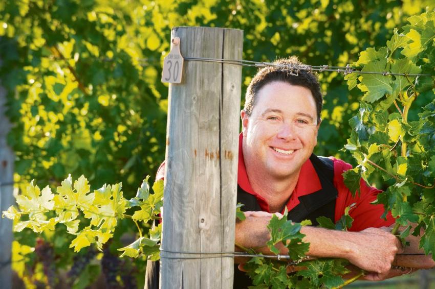 Flametree chief winemaker Cliff Royle.