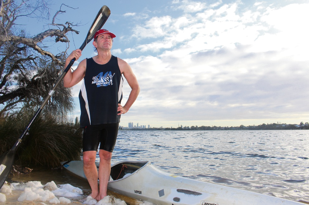 Leeming resident John Hilton will compete in his 19th Avon Descent this weekend.