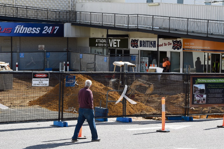 Construction work has already begun at Melville Plaza and British Food to Go is one of a number of stores leaving the centre as a result of the redevelopment.