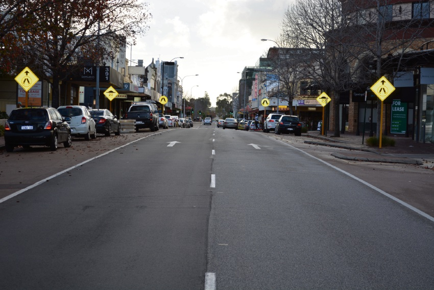 Hay Street in Subiaco.
