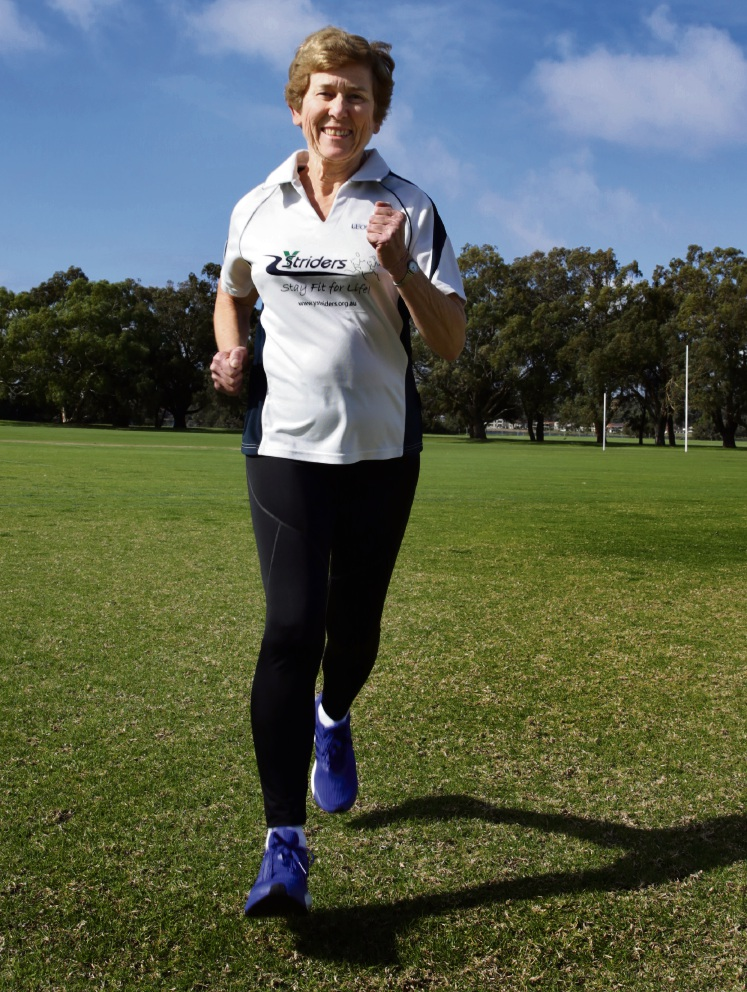 Leonie Harper had never run before joining Attadale fitness group Y-Striders. She has since become a prolific runner.