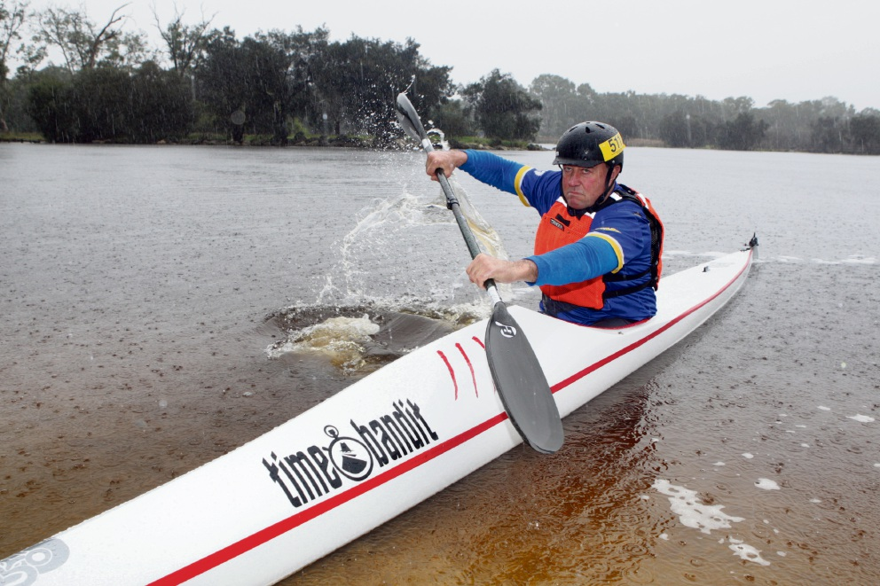 Kayaker Steve Bolger is going for his sixth Avon Descent. Picture: Bruce Hunt www.communitypix.com.au d471921