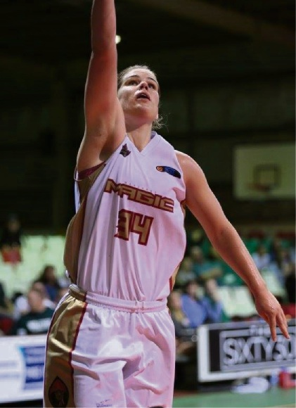 Carly Boag top-scored for Mandurah with 16 points and 13 rebounds.