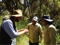 Members of the Aboriginal Conservation Training program graduated last month.