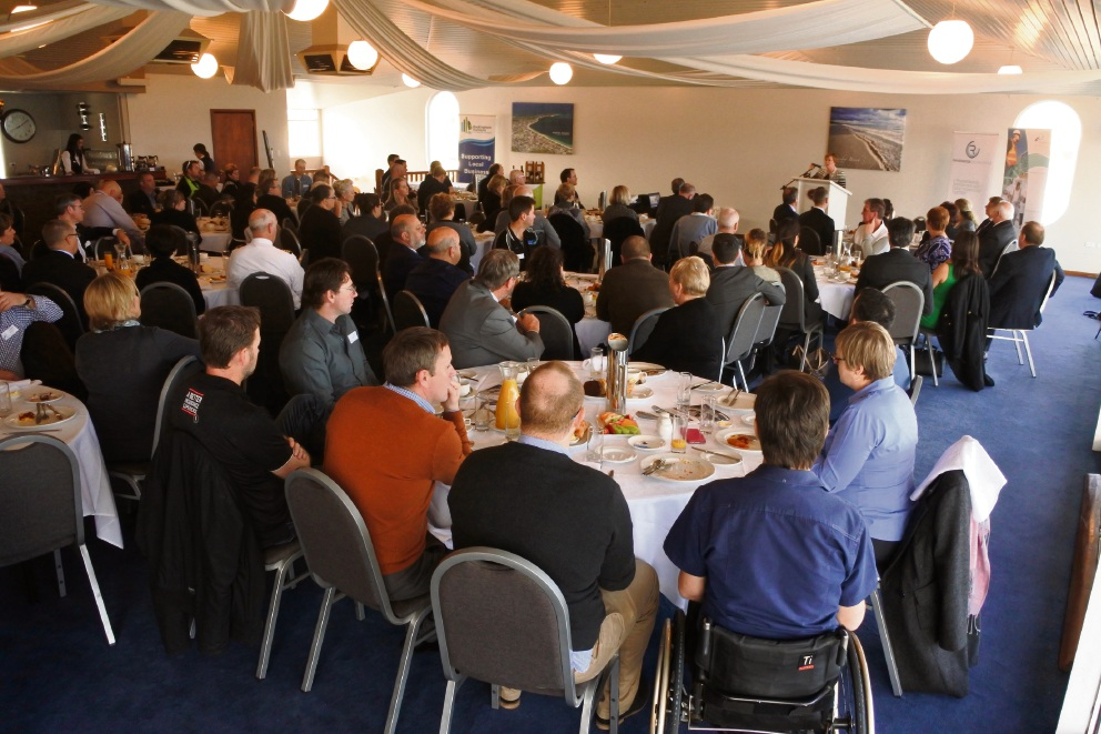 Rockingham business leaders at the defence business forum.