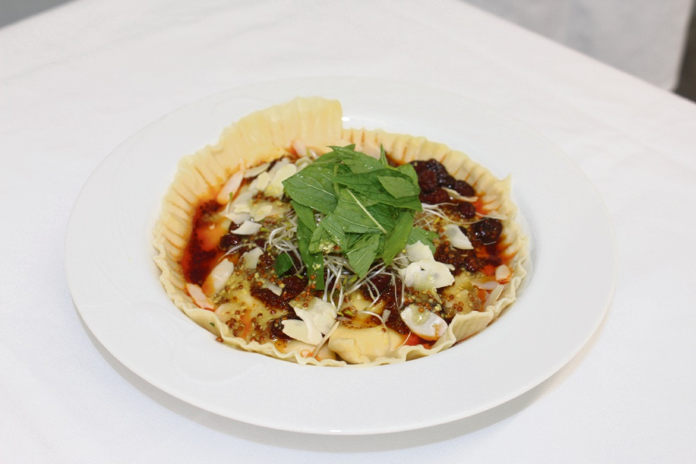 Dianella chef Yasmine's ravioli wins top prize in Hospitality Group Training's Taste of the Future Competition