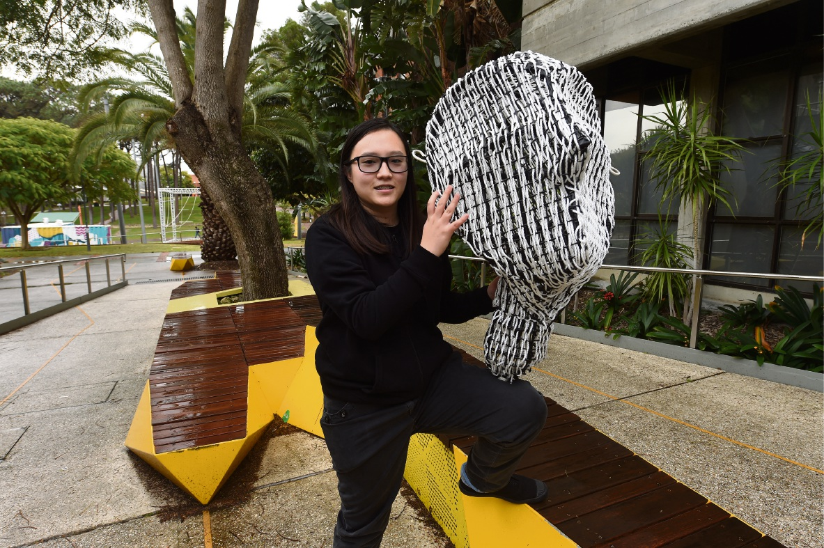 Clarissa Lee is all tied up with the Curtin University production of 12 Strings and the Scale of Things.