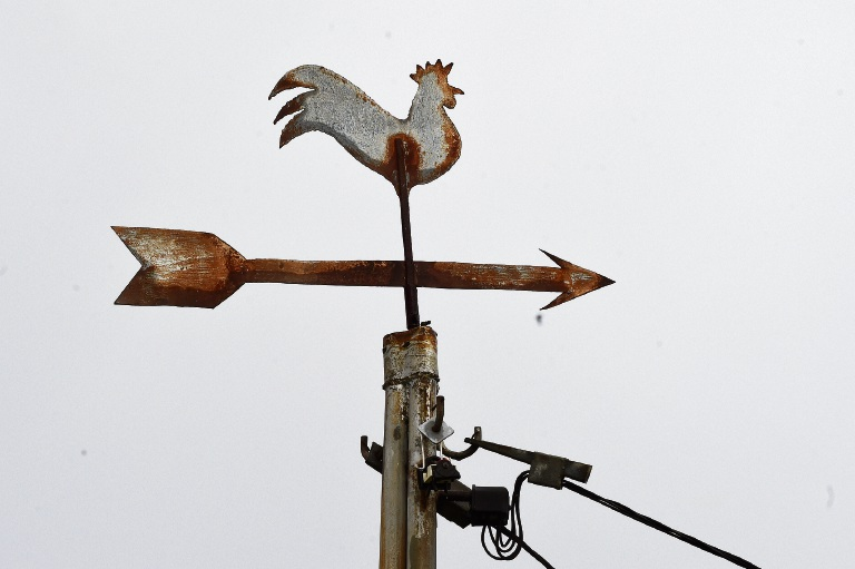 The rooster knows all...this old weather vane in Spearwood is being moved to the Azelia Ley Homestead Museum.