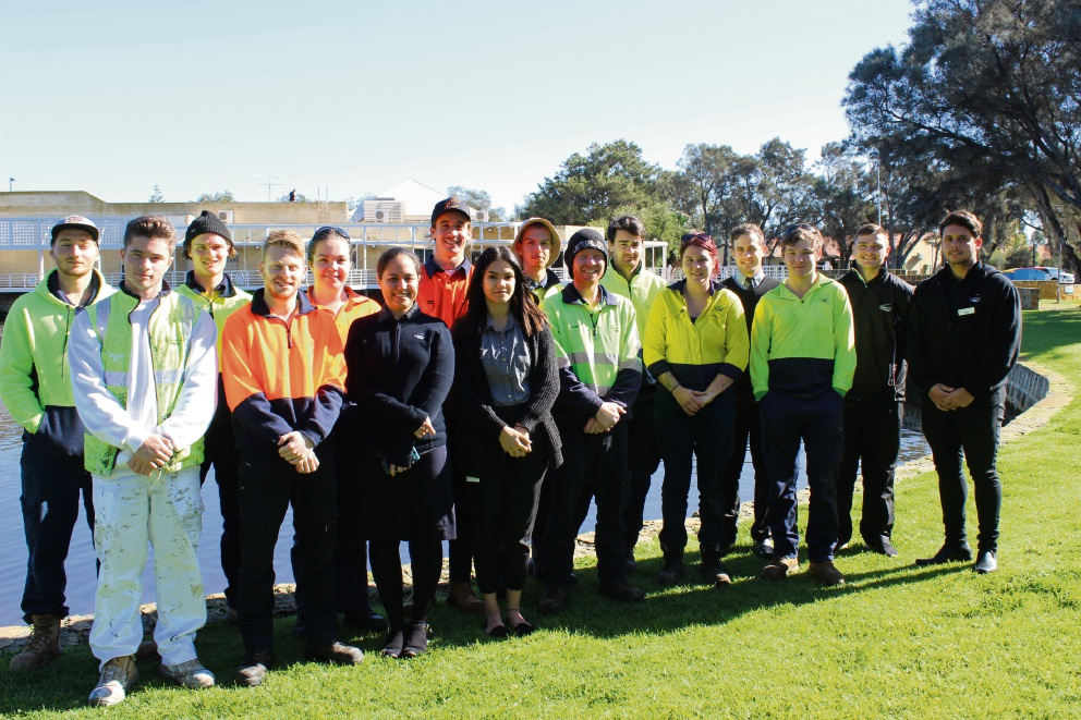 City of Mandurah apprentices and, trainees and cadets