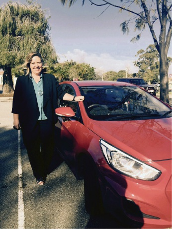 Uber driver Debbie Stewart of Mandurah loves the freedom and flexibility it gives her.