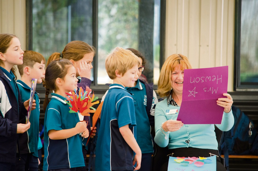 Lifetime of teaching: Beechboro Christian School art teacher Linda Hewson celebrated 20 years with the school