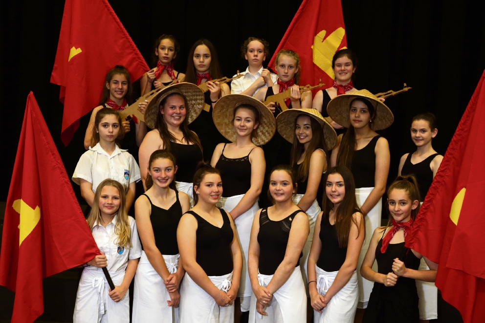 Students from Ashdale College will be performing for the Wakakirri  festival. Picture: Martin Kennealey