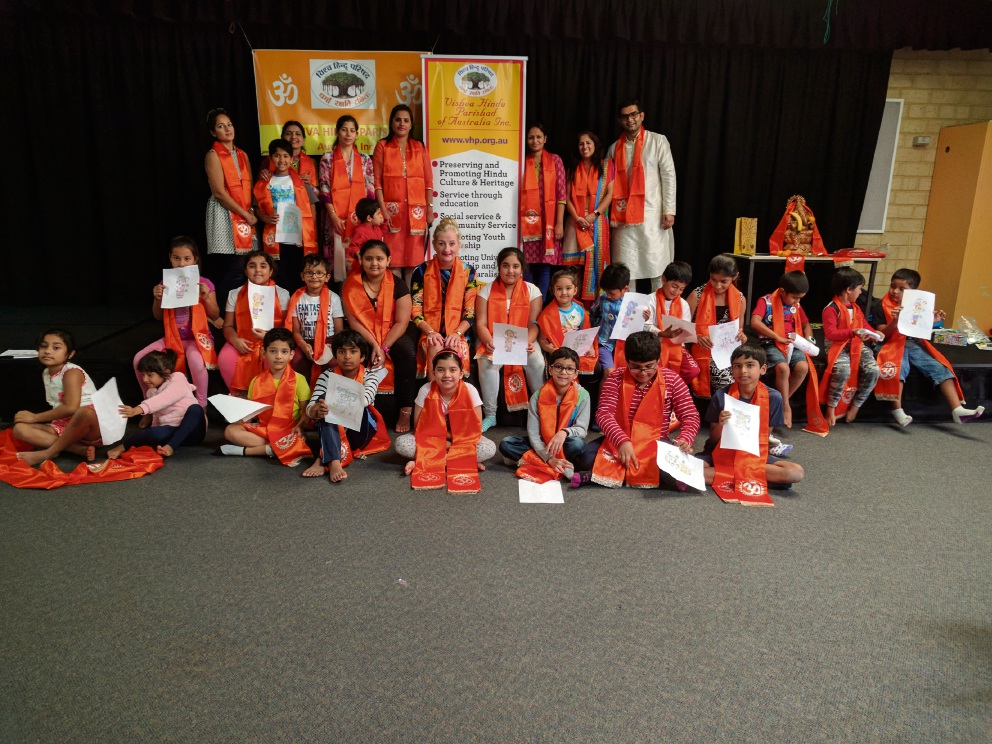 The Bal Utsav, or celebration of children, at Mindarie Primary School.