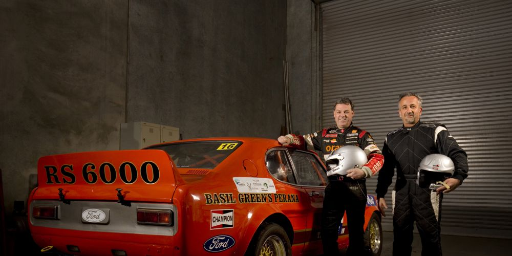 Last year's winners, Simon Gunson and Murray Armenti, are hoping for continued success this week in their 1971 Ford Capri.