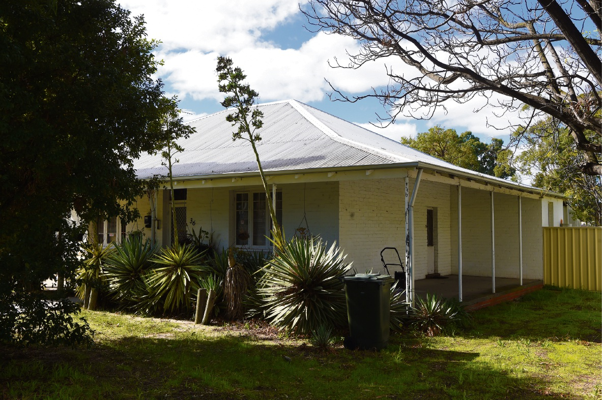 Don't knock it down: The heritage cottage on Lathlain Park that residents are fighting to save