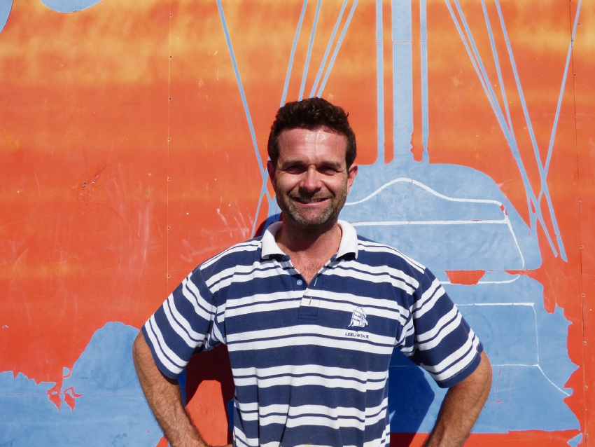 Bosun Andy Laurie sailed on the New Zealand tall ship SV Tenacious, which is accessible to people with a disability.