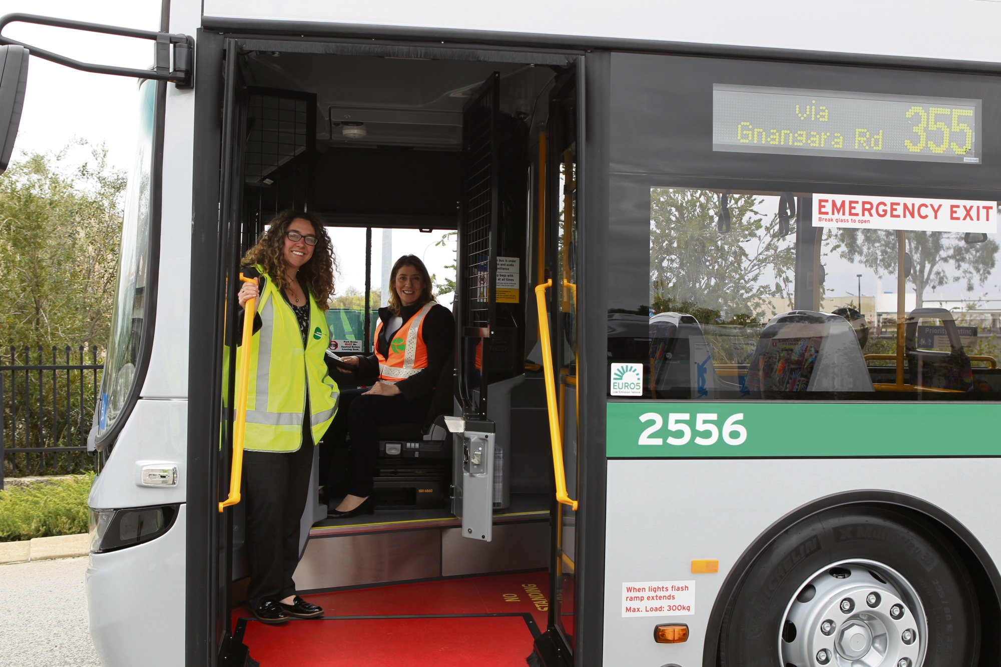 Swan Hills MLA Jessica Shaw and Transport Minister Rita Saffioti, who announced the new bus service to Whitfords from Ellenbrook. Picture: Lisa Thomas