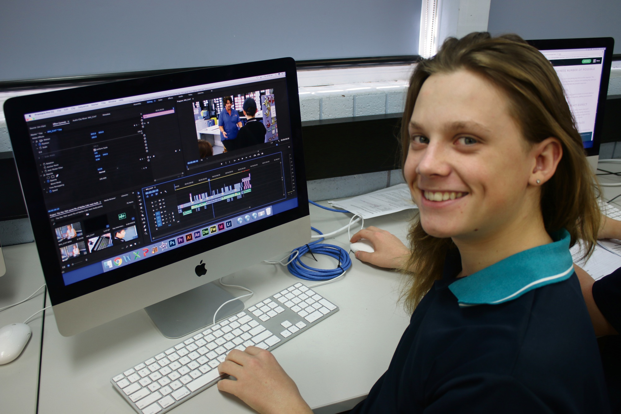 Safety Bay Senior High School student Sebastien Rusby, who directed a film shortlisted for the Focus On Ability Short Film Awards.