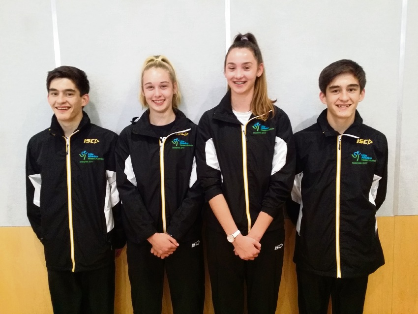 Brendan Rocchi, Anneka West, Tanika Lockley and Matthew Rocchi blazed the track at an international Little Athletics meet in Malaysia to return with eight medals.